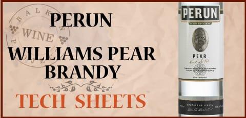 williams pear tech sheet